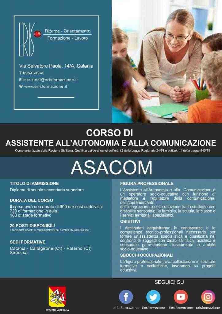 ASACOM - Assistente all'autonomia e alla comunicazione