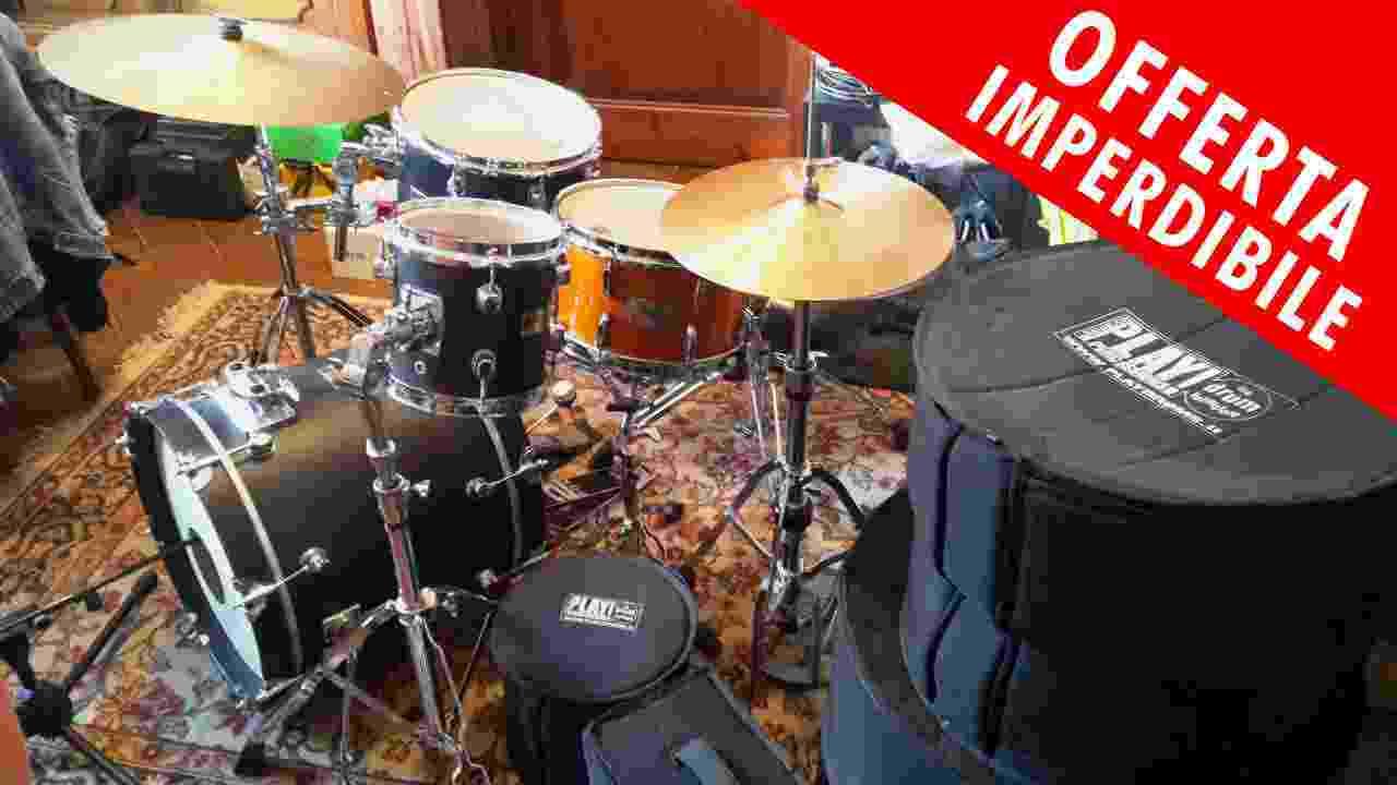 MEGA SALDO: Batteria Power Jazz Custom Set Completo