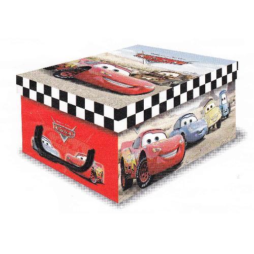 """Stock 5 scatole automontanti mini box """"Cars"""" – 32x23x14cm –"""