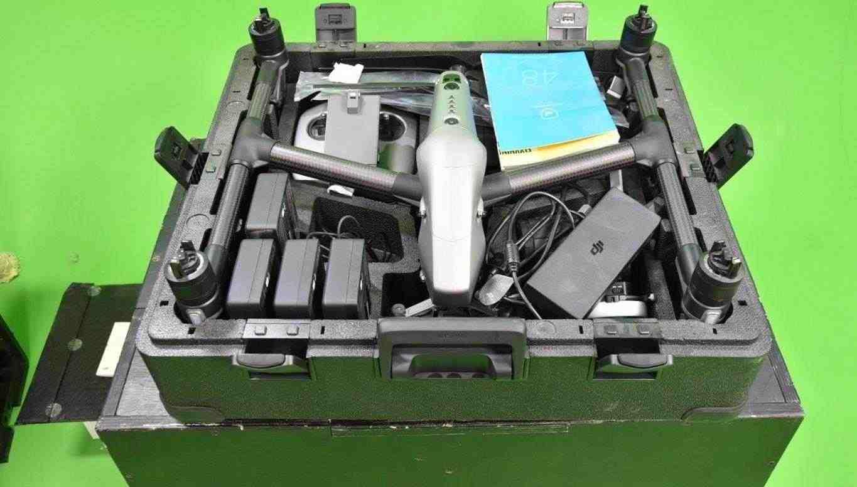 DJI Inspire 2 Premium Combo X5S camera, BJ 2019, focus wheel, 4 batterie