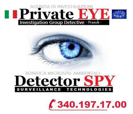 Investigazioni private BERGAMO - BRESCIA - CREMONA - MONZA - VERONA - PAVIA  Detectives Italia