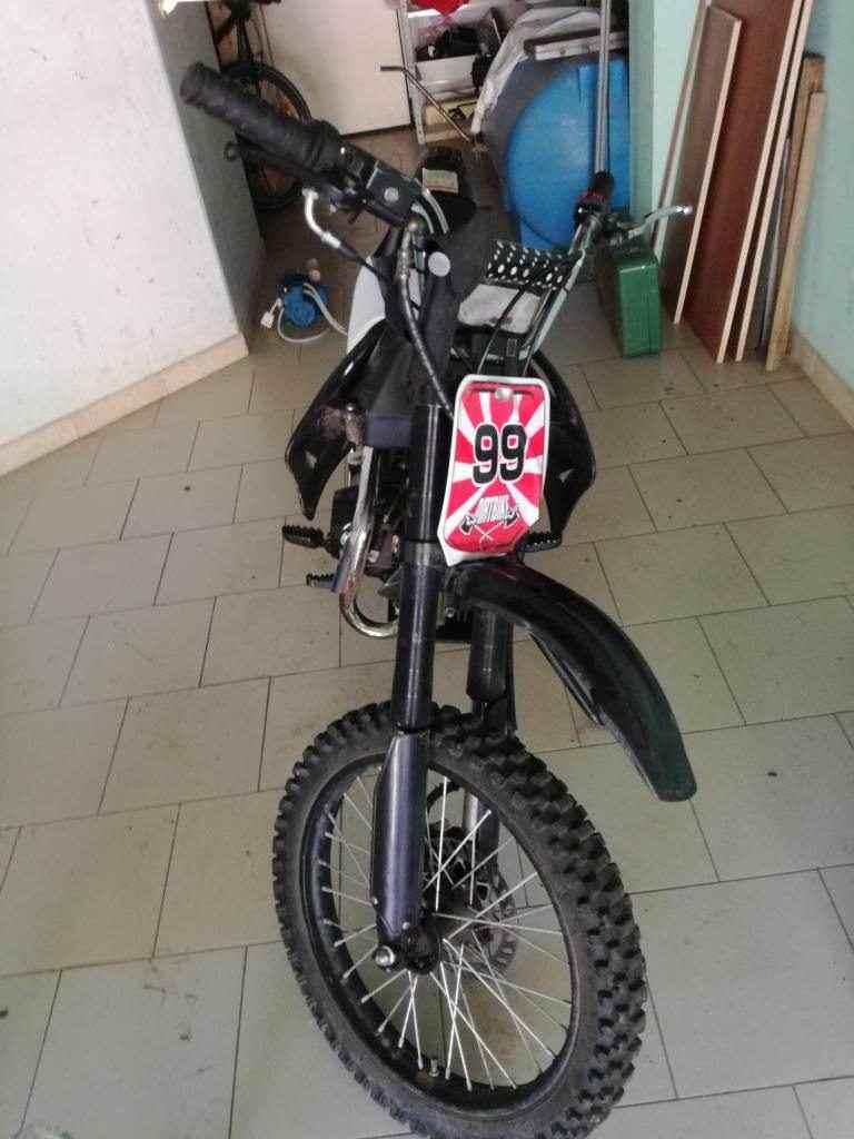 Pit/dirt bike 125 4 tempi con cambio manuale a 4 rapporti