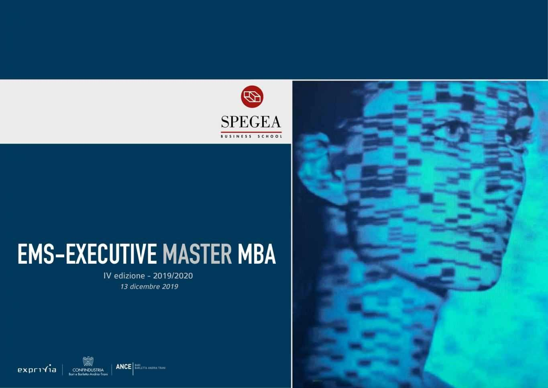 Executive MBA - IV edizione - SPEGEA Business School