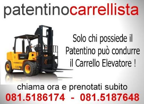 Corso Patentino Muletto e Carrello Elevatore