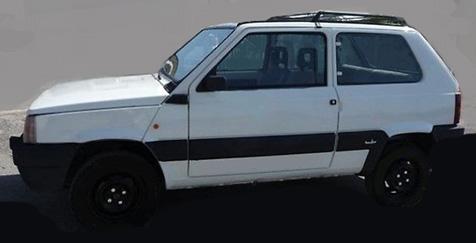 Fiat Panda 1987 - 4x4 Sisley - Aria condizionata originale