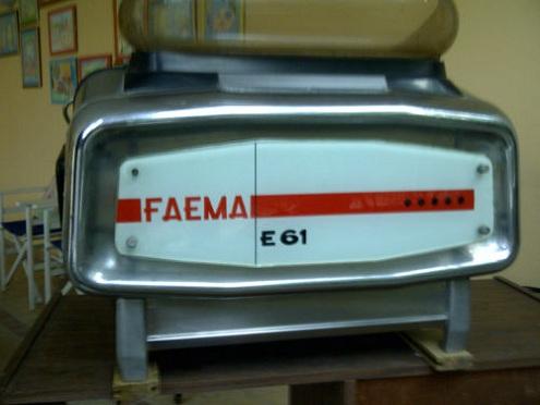 Faema E61 splendida del 1962