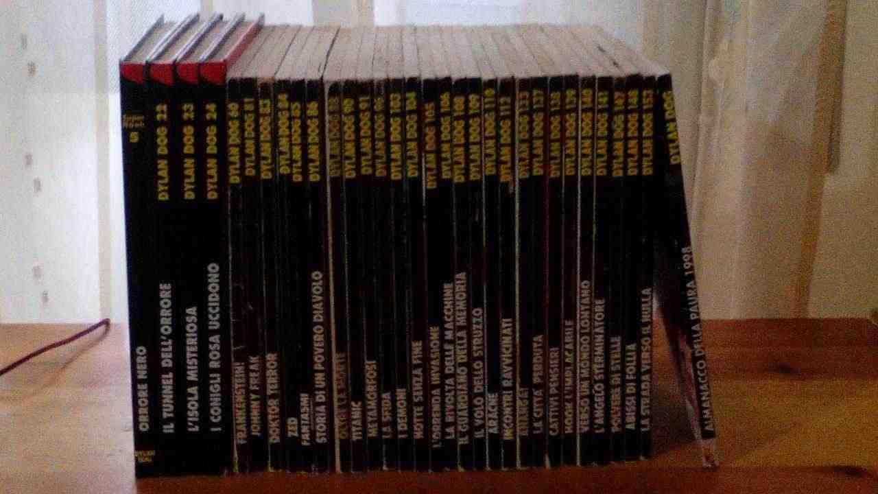 Fumetti Dylan Dog ( 27 + 3 + 1 + 1 ) = n°32 volumi