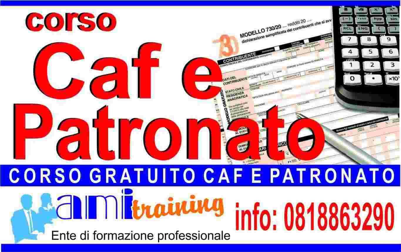 Corso gratuito caf e patronato