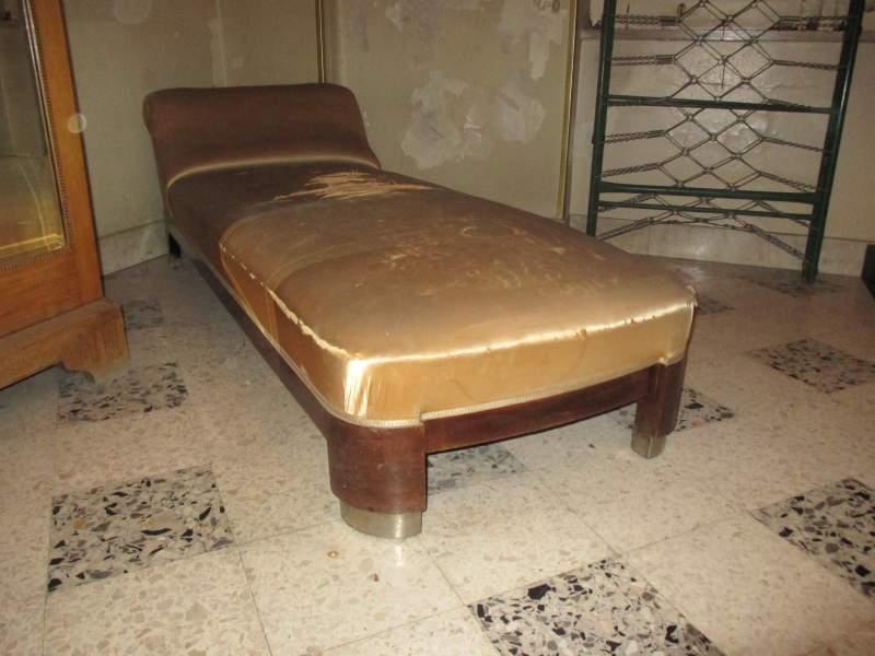 Raro divano dormeuse originale dèco 1930 design
