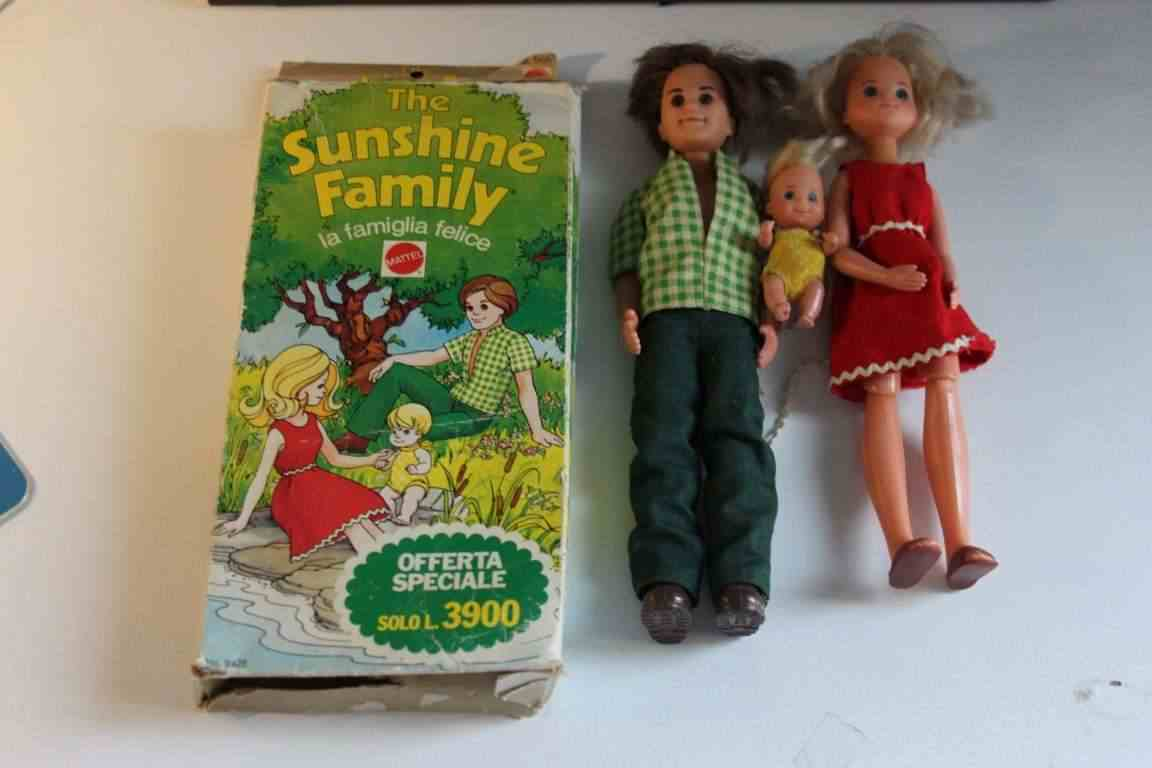 The Sunshine Family Mattel tipo Barbie