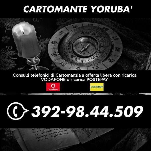•*´¨`*•.¸ Cartomante Yoruba' ¸.•*´¨`*•