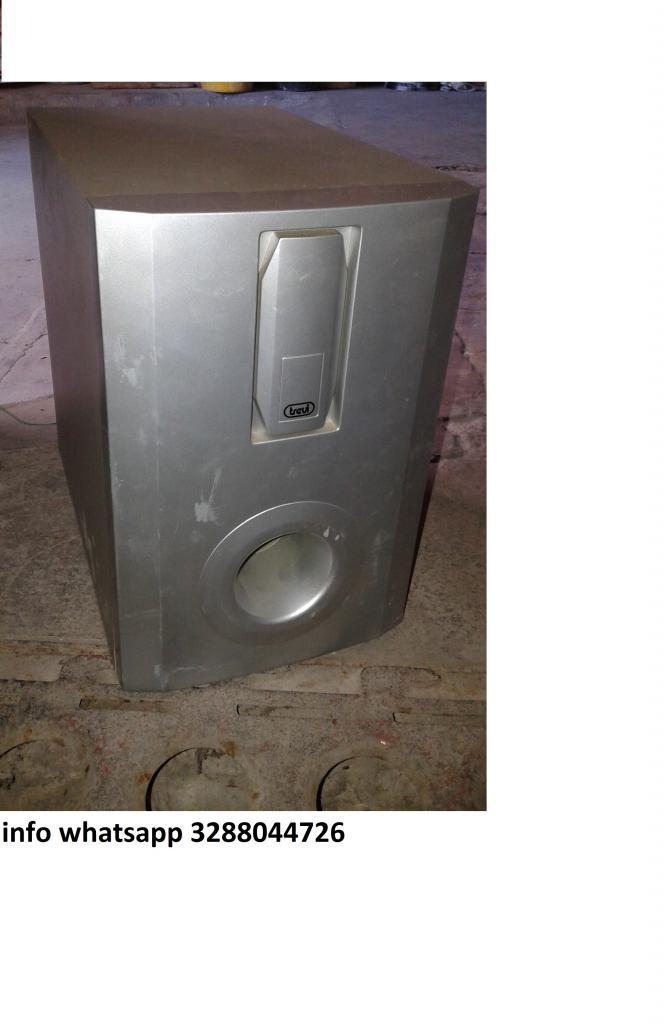SUBWOOFER PASSIVO PER L'IMPIANTO SURROUND 500 WATT USATO POCO