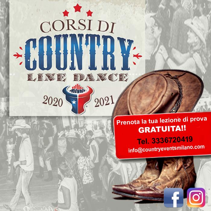 Corsi di Ballo Country Lombardia 2020//21