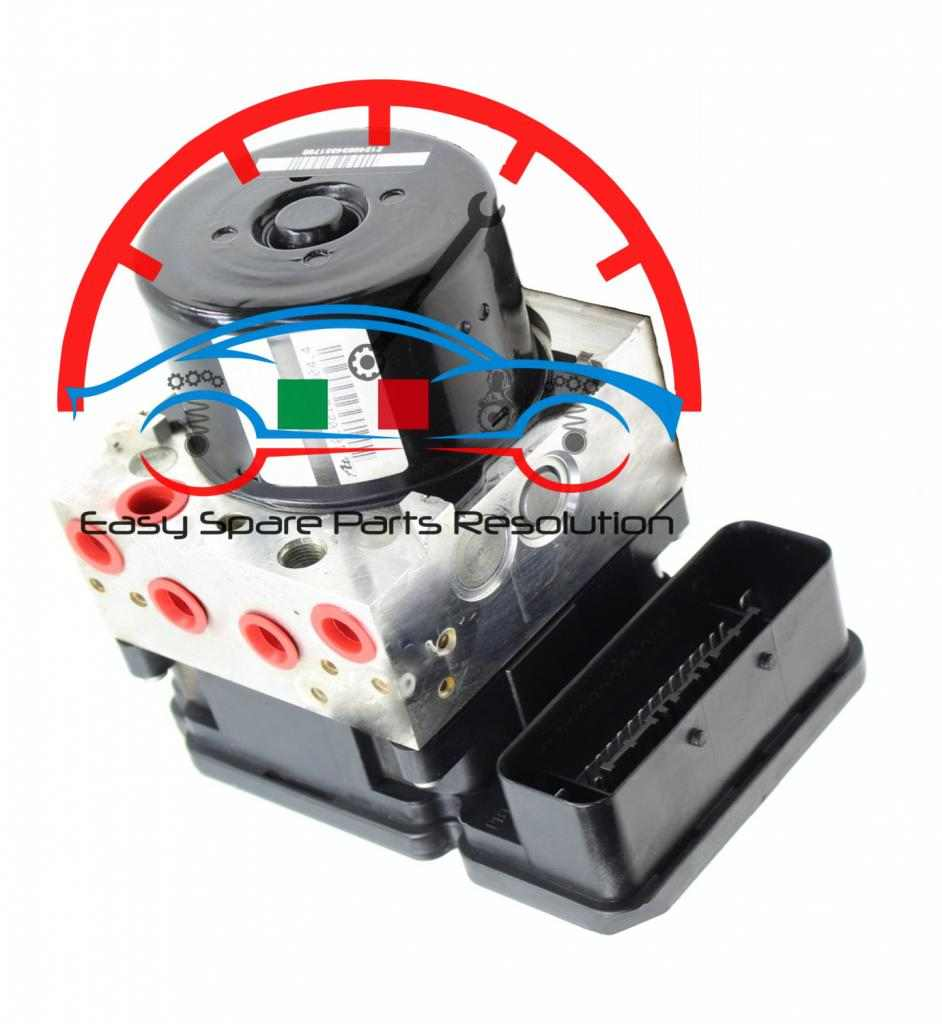 Centralina Abs Peugeot 1007 1.6 10096011543