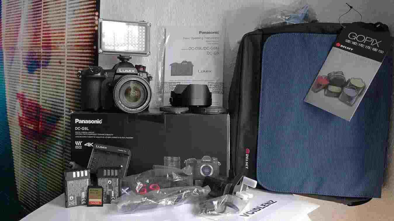 PANASONIC`G9L Pro 4K + 12-60mm f2,8 + EXTRA