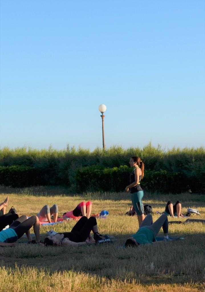 Lezioni di pilates (personal o  piccoli gruppi)