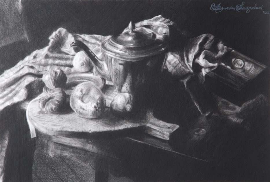 Lezioni corso pittura individuale disegno olio acrilico matita verona valpolicella