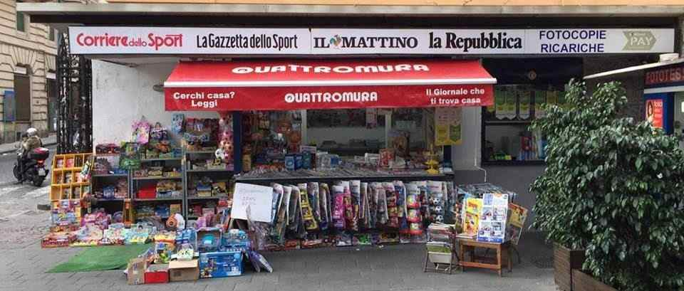Vendita Edicola Piazza Amedeo