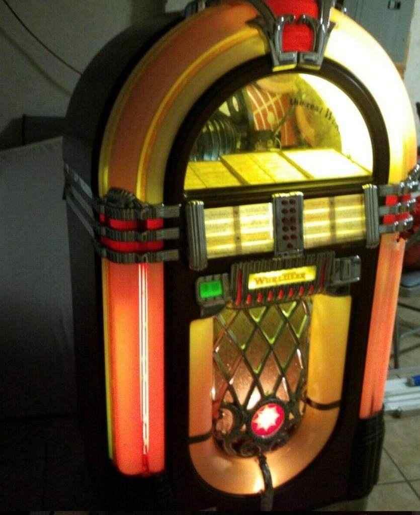 Jukebox Wurlitzer 1015 One More Time Bubbler