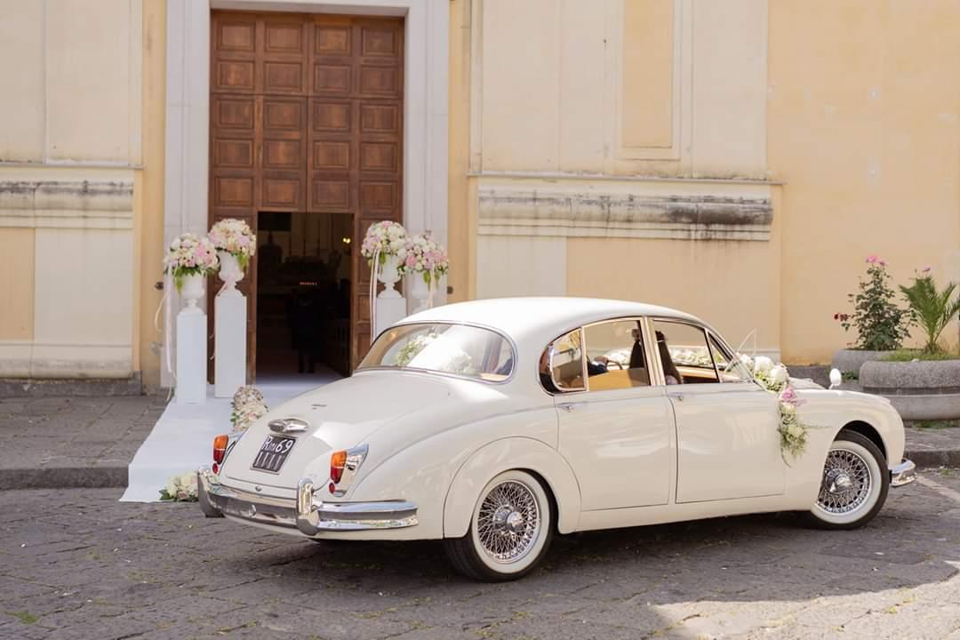 Jaguar mk2 per matrimonio auto vintage berlina avellino Salerno Napoli Caserta Benevento