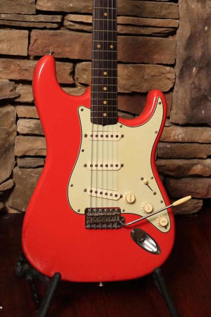 1962 Fender Stratocaster, Chitarra molto rara