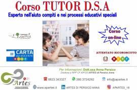 Corso Tutor DSA: DISTURBI SPECIFICI DI APPRENDIMENTO