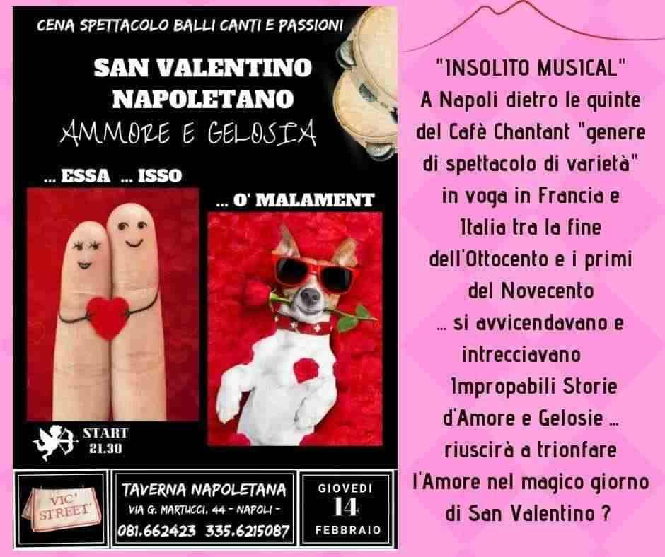 San Valentino con Spettacolo Napoletano