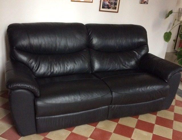 Vendo divano in pelle