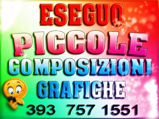 COMPOSIZIONI GRAFICHE - WEB
