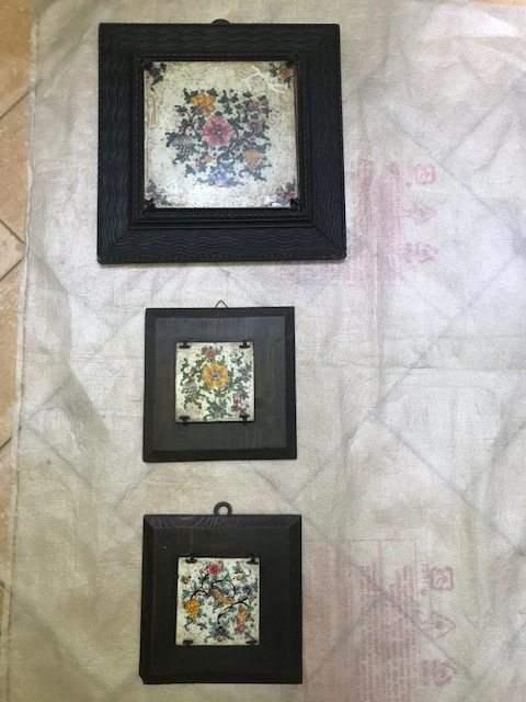 quadri in ceramica di epoca