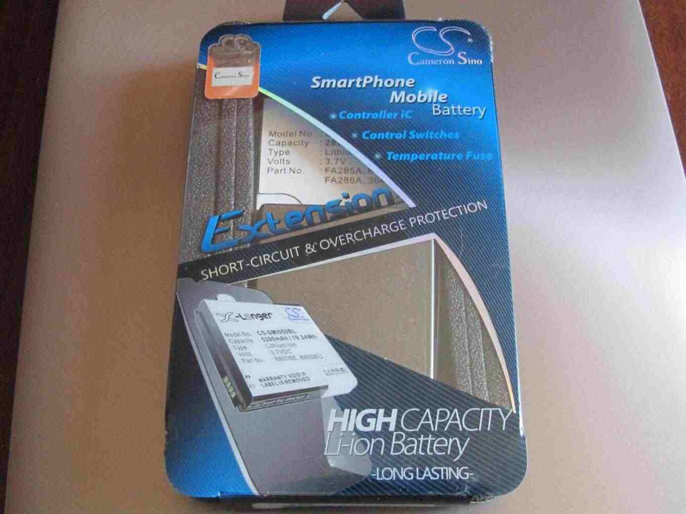 Cameron Sino originale battery Extension x HP/iPAQ