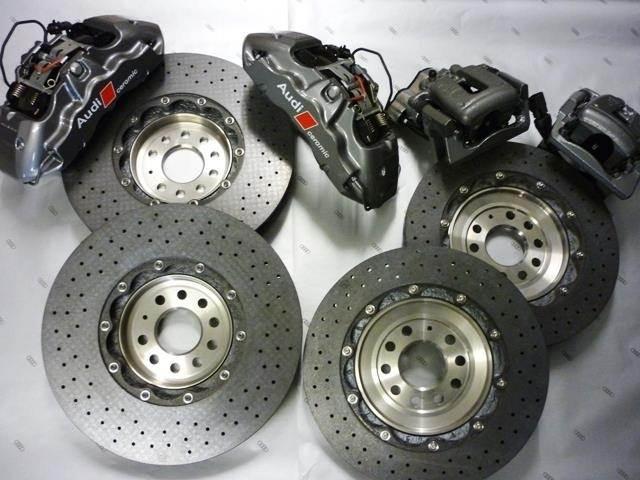 Set Freni in ceramica Audi R8/Lamborghini originali