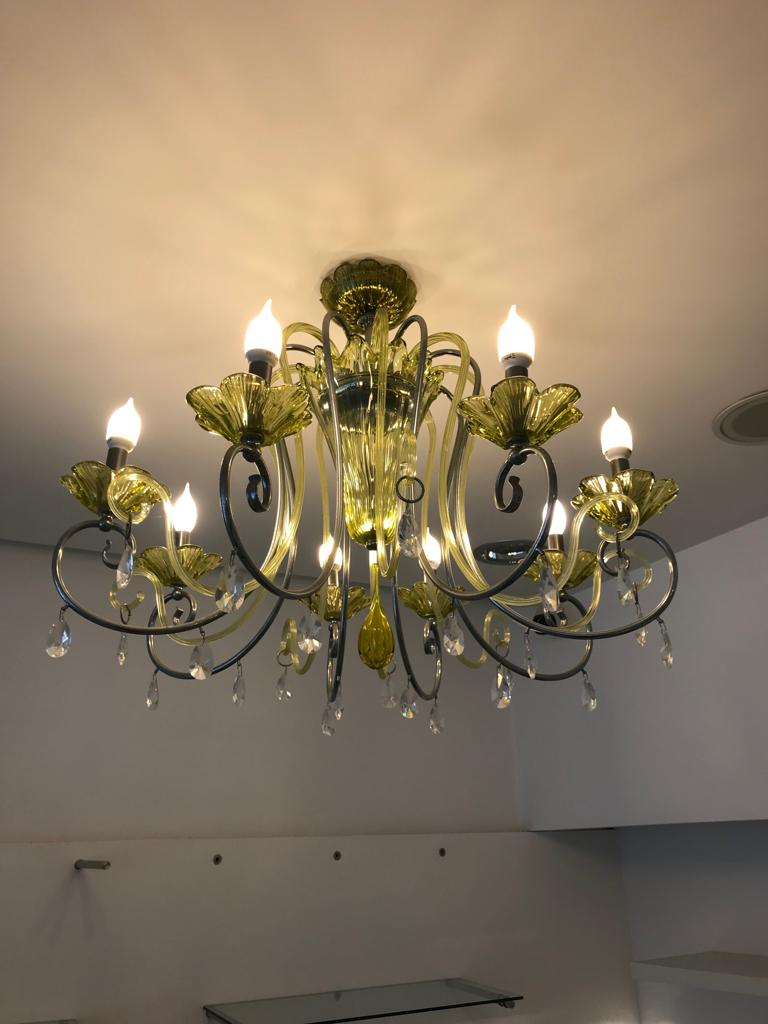 Lampadari vetro di Murano originali