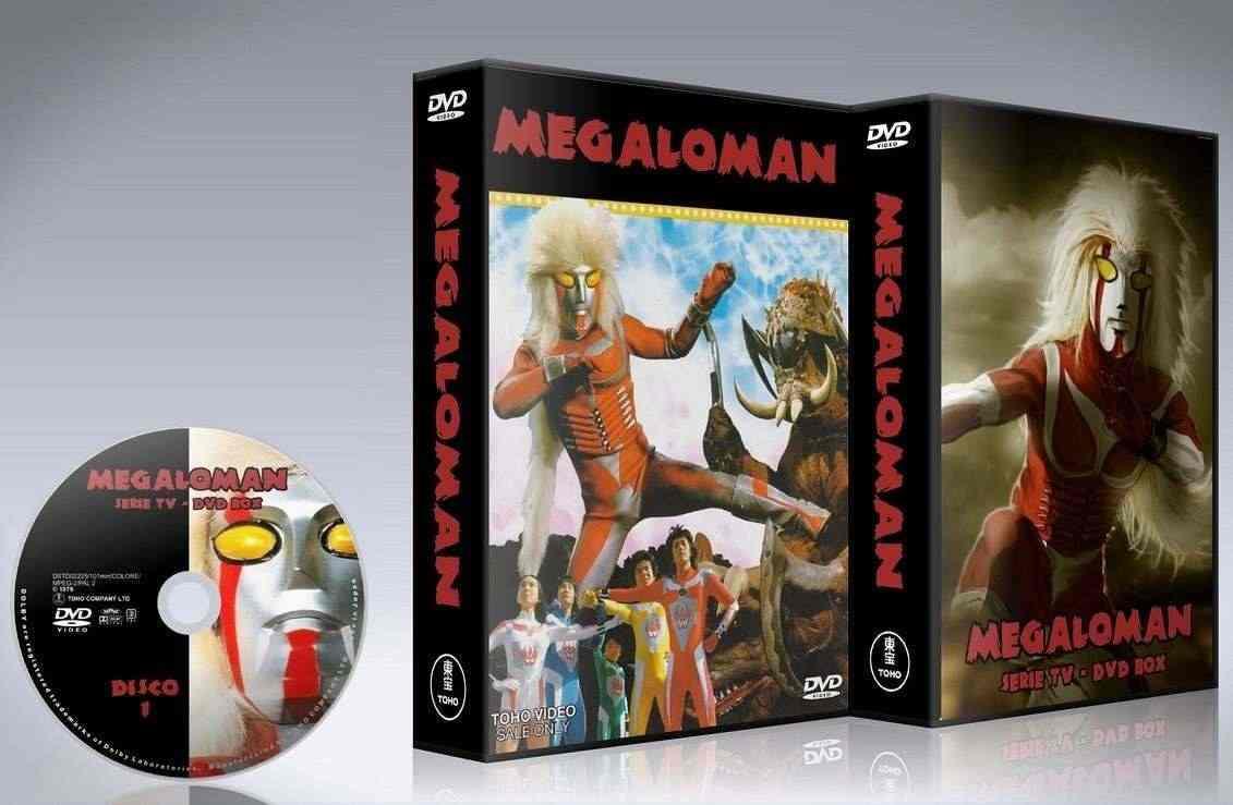 Megaloman serie TV anni ྌ serie completa in dvd
