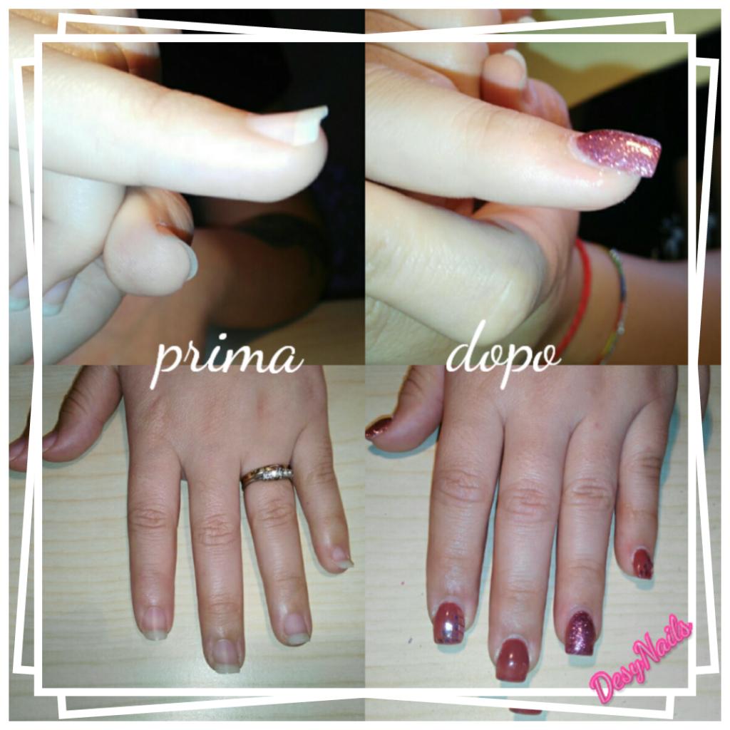 Addetta ricostruzione unghie
