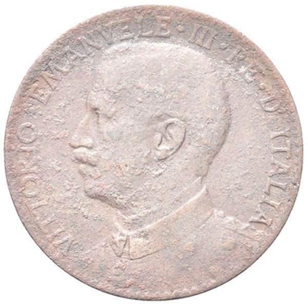 Moneta Colonia Somala - Vittorio Emanuele III, 1909-1925. 2 Bese 1910. Rara