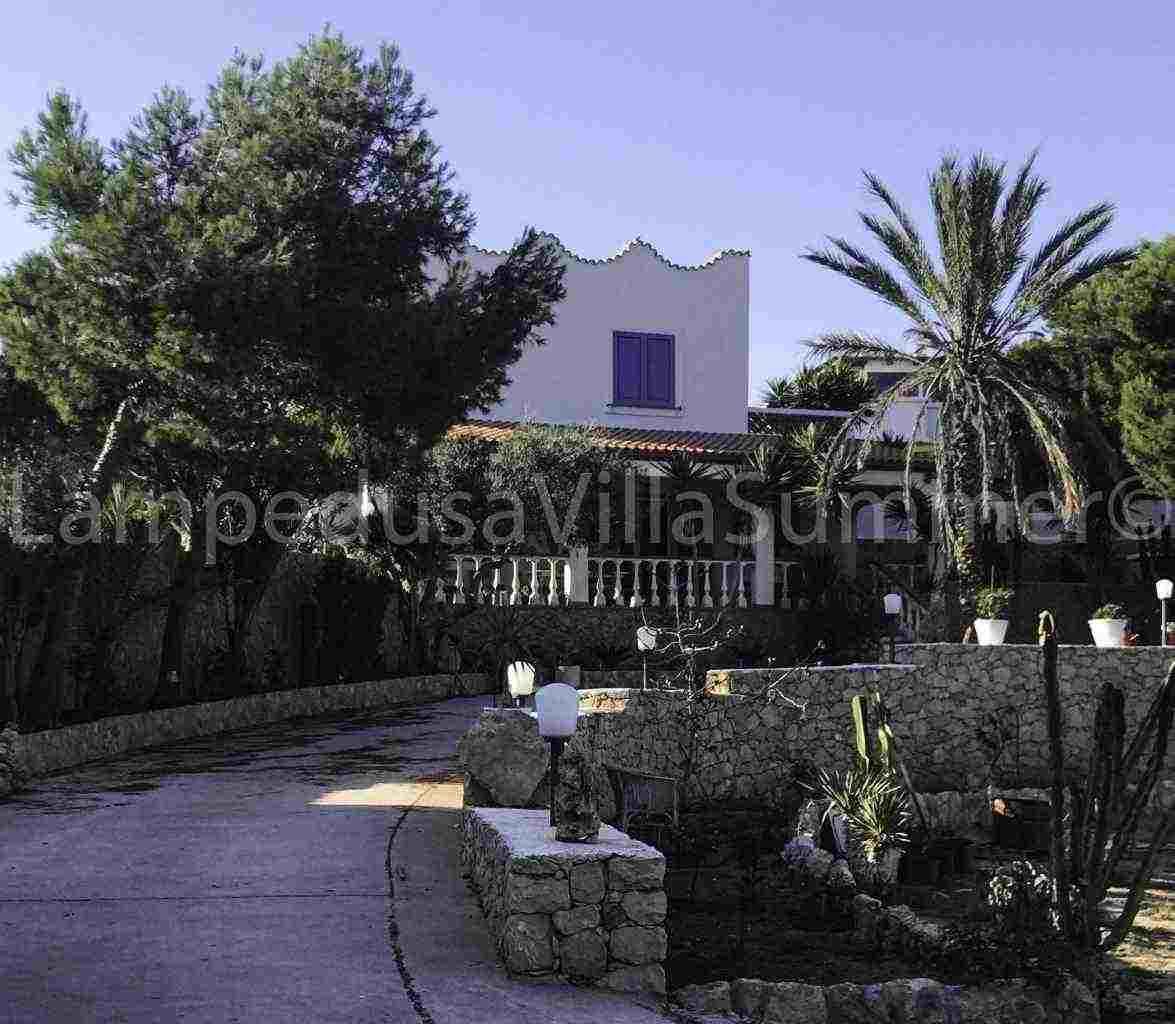 Lampedusa case in affitto - Villa nuova indipendente panoramica vista mare disponibile in affitto