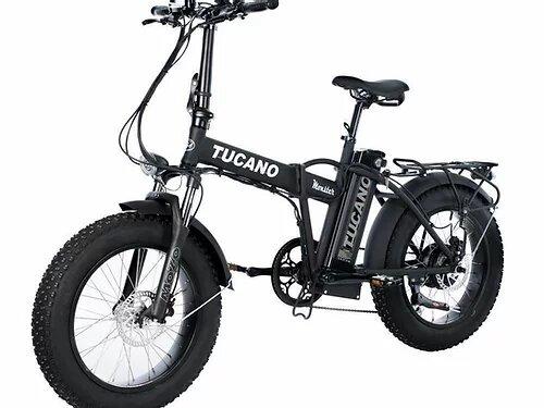 Bici Elettrica Pieghevole FAT BIKE 20 TUCANO Monster 500Watt LTD Special Edition