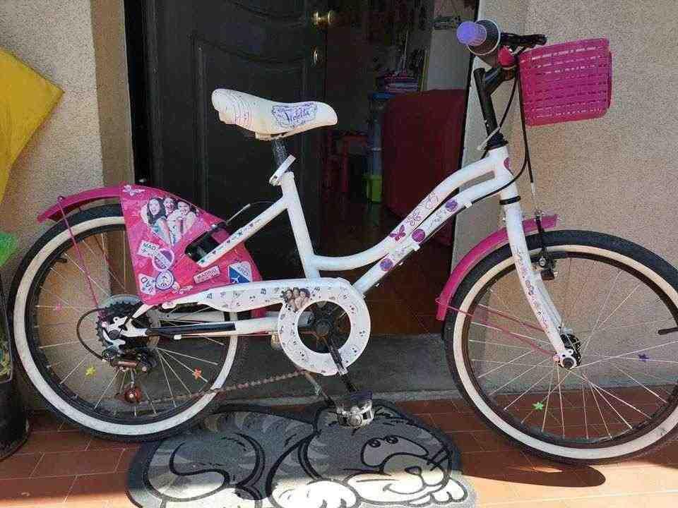 bici per bambina usata ben tenutra
