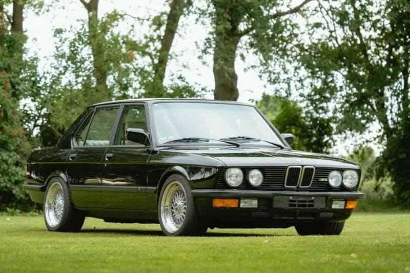 1988 Bmw M5 E28 286 CV