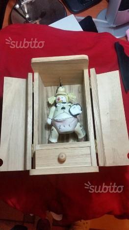 Marionetta, bambole e gnomi in ceramica