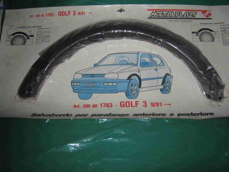 Salva bordi parafanghi w golf terza serie d'epoca