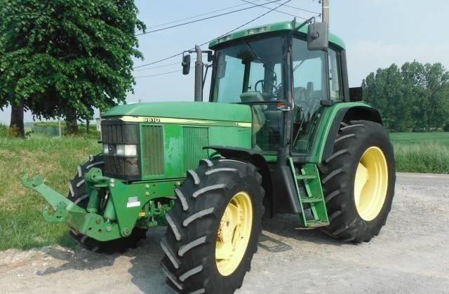 trattore John Deere 6610