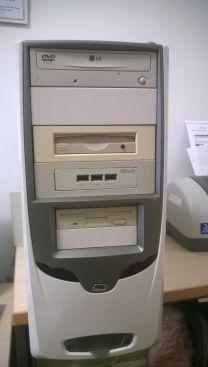 Computer Pentium 4 cpu 3.00 ghz –ram 2.000