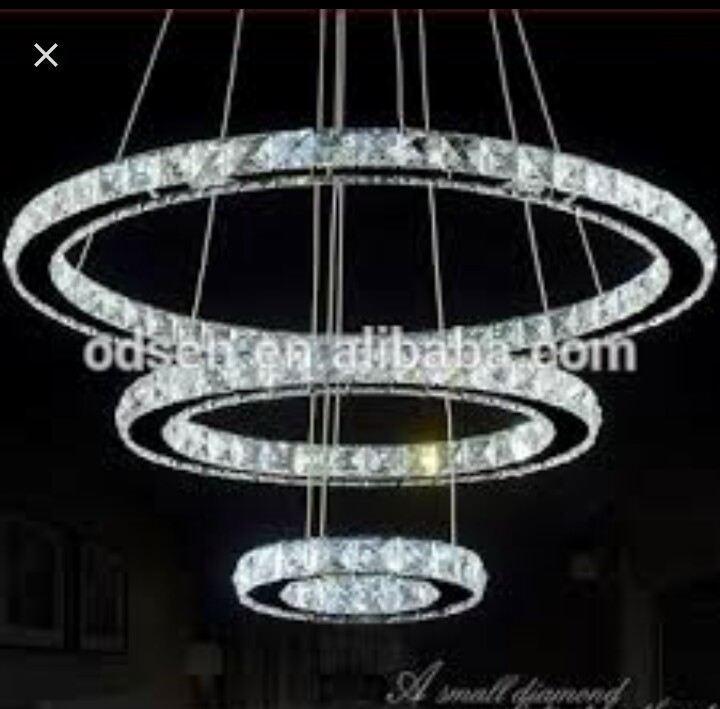 Vendo lampadario di cristallo