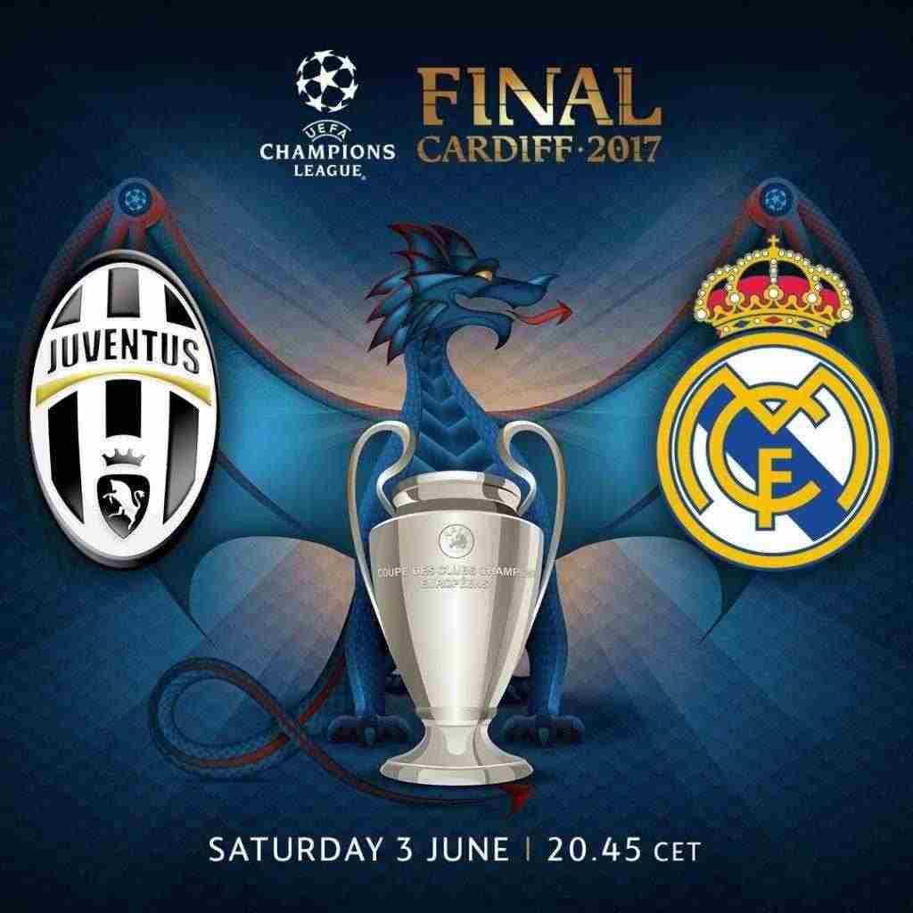 Juventus Vs Real Madrid Biglietti Finale 2017 Champions League Cardiff