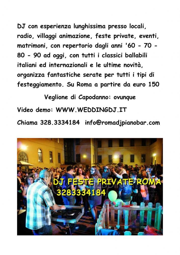 Capodanno Roma con DJ