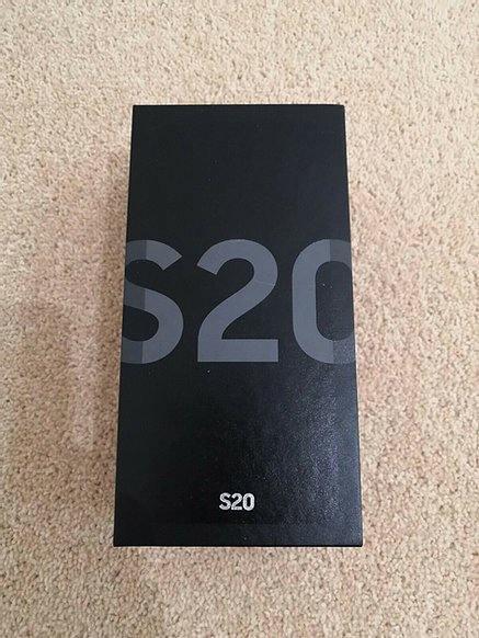 Samsung Galaxy S20 SM-G980F/DS - 128GB-Cosmic GRIGIO NUOVO CON SCATOLA SIGILLATA
