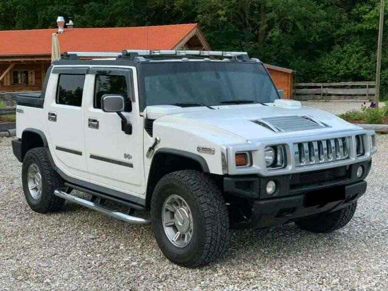 Hummer H2 SUT Pick-Up 6.2l Luxury Edition-Exclusive