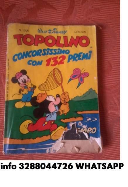 FUMETTO TOPOLINO ORIGINALE DEL 1980 N. 130